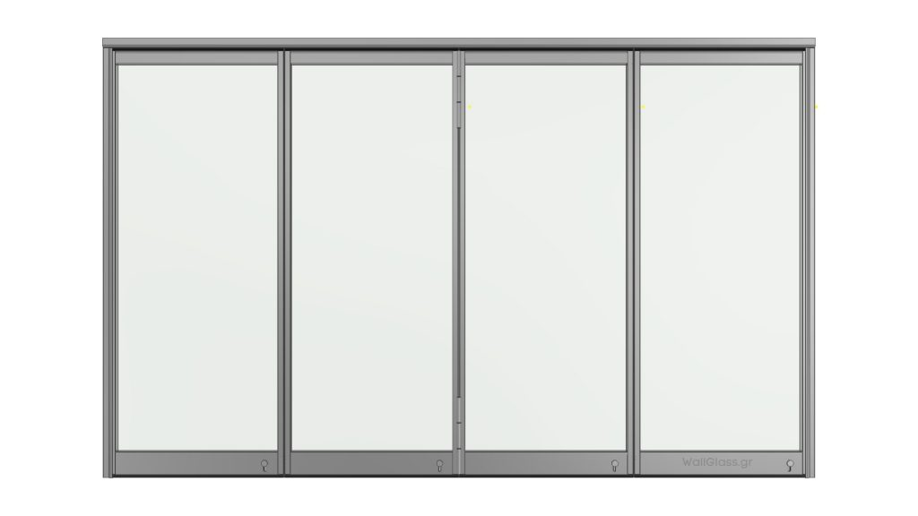 Όψη φύλλων εφαρμογής WG-300 με μεντεσέ 02