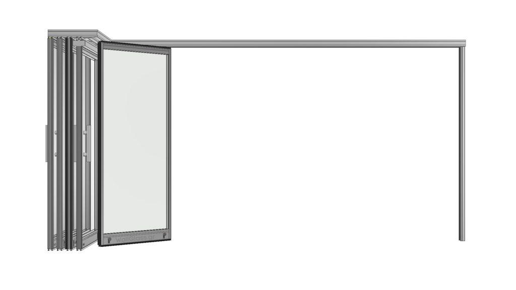 Όψη φύλλων εφαρμογής WG-300 P παρκαρισμένα